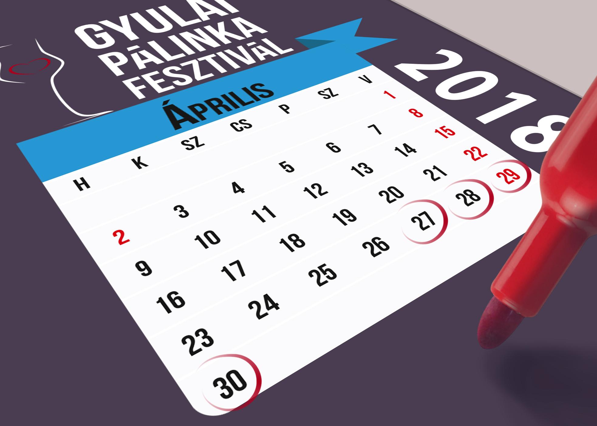 Gyulai Pálinkafesztivál áprilisban Gyulán