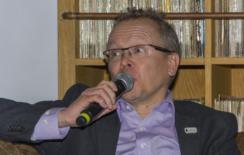 Pach Gábor a Balaton Open ötletgazdája