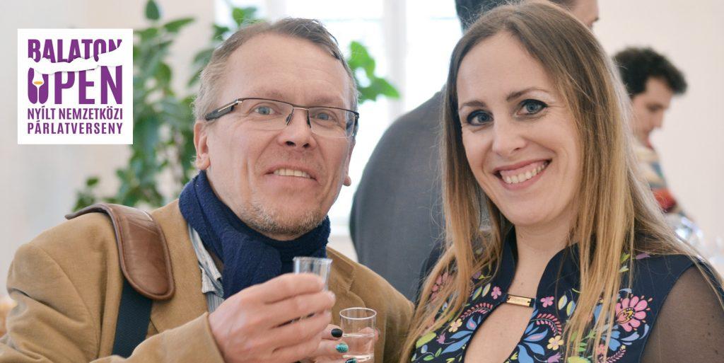 Pach Gábor és Zina, a pálinkaagyal már a Balaton Open Párlatversenyre hangolódik
