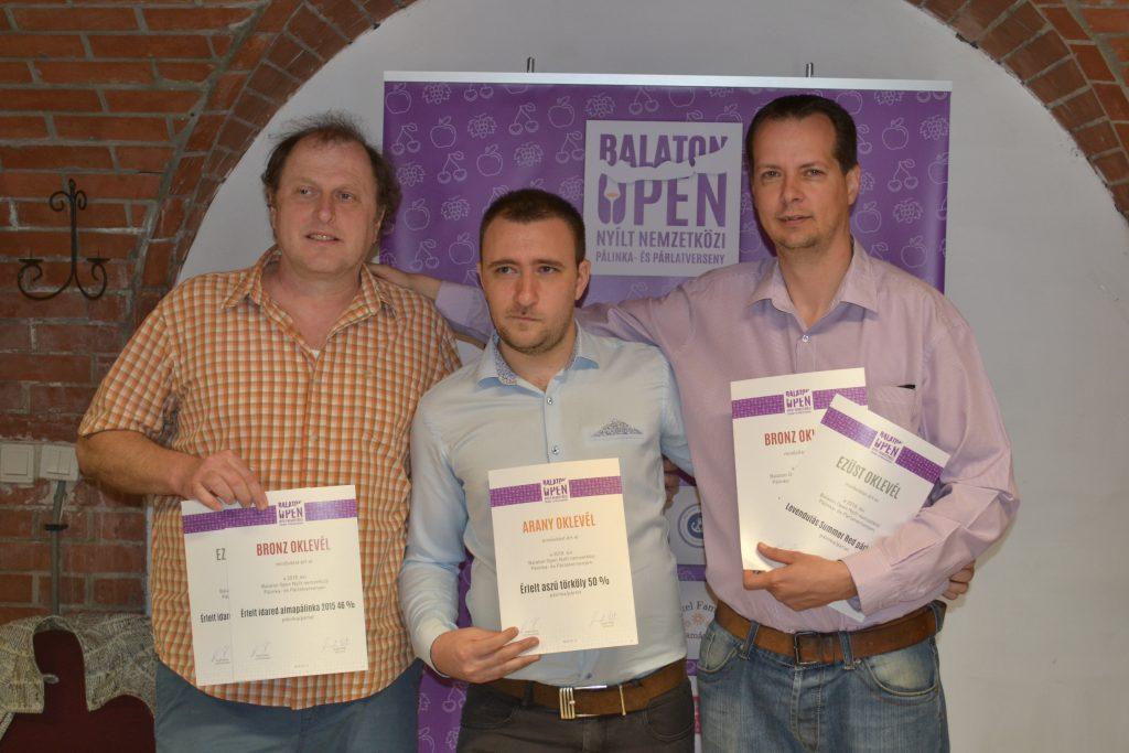 Balogh CSoli Zsolt a Balaton Openen is sikerket ért el