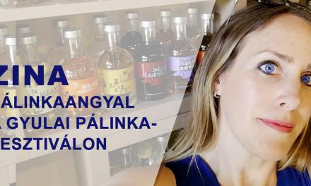 Zina, a pálinkaangyal a Gyulai Pálinkafesztiválon