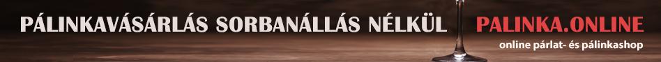 Pálinka.shop - pálinkák és párlatok szakáruháza a neten