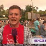 Köztévé pálinkás riportere és a bajai verseny