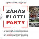 Zárás előtti party a Partyőrségben