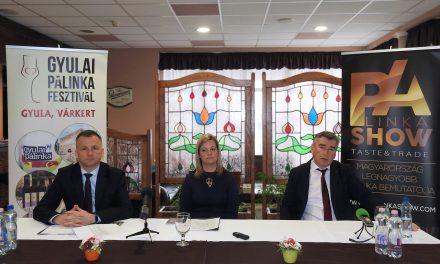 Gyulai Pálinka Show lesz áprilisban
