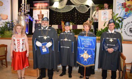 Sólyi Szent István Pálinka Lovagrend a Lövői Párlatversenyen